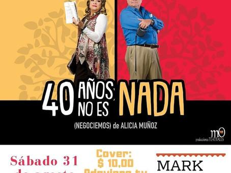 Martha Ontaneda y Marcelo Galvez  '40 años no es nada' En Salinas -MARK. La diferencia 31 d