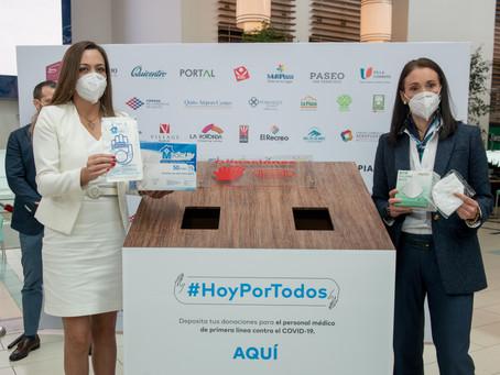 Los centros comerciales del Ecuador inician una cruzada colaborativa para ayudar al personal