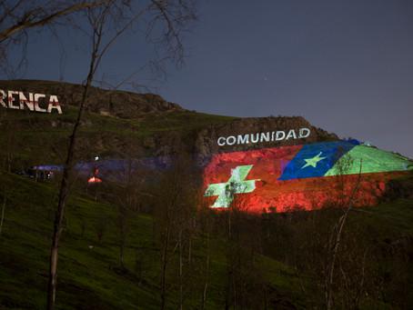 Arte sin fronteras: Chile y Suiza se unen en un mensaje de aliento en una ocasión especial
