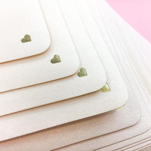 CRUSHING HARD 😍 on this foil stamped mi