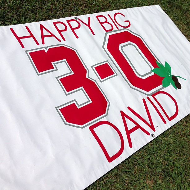 BIG #Banners for BIG Birthdays!