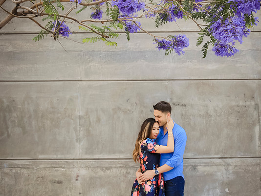 Jocelyn + Dean | Downtown Los Angeles