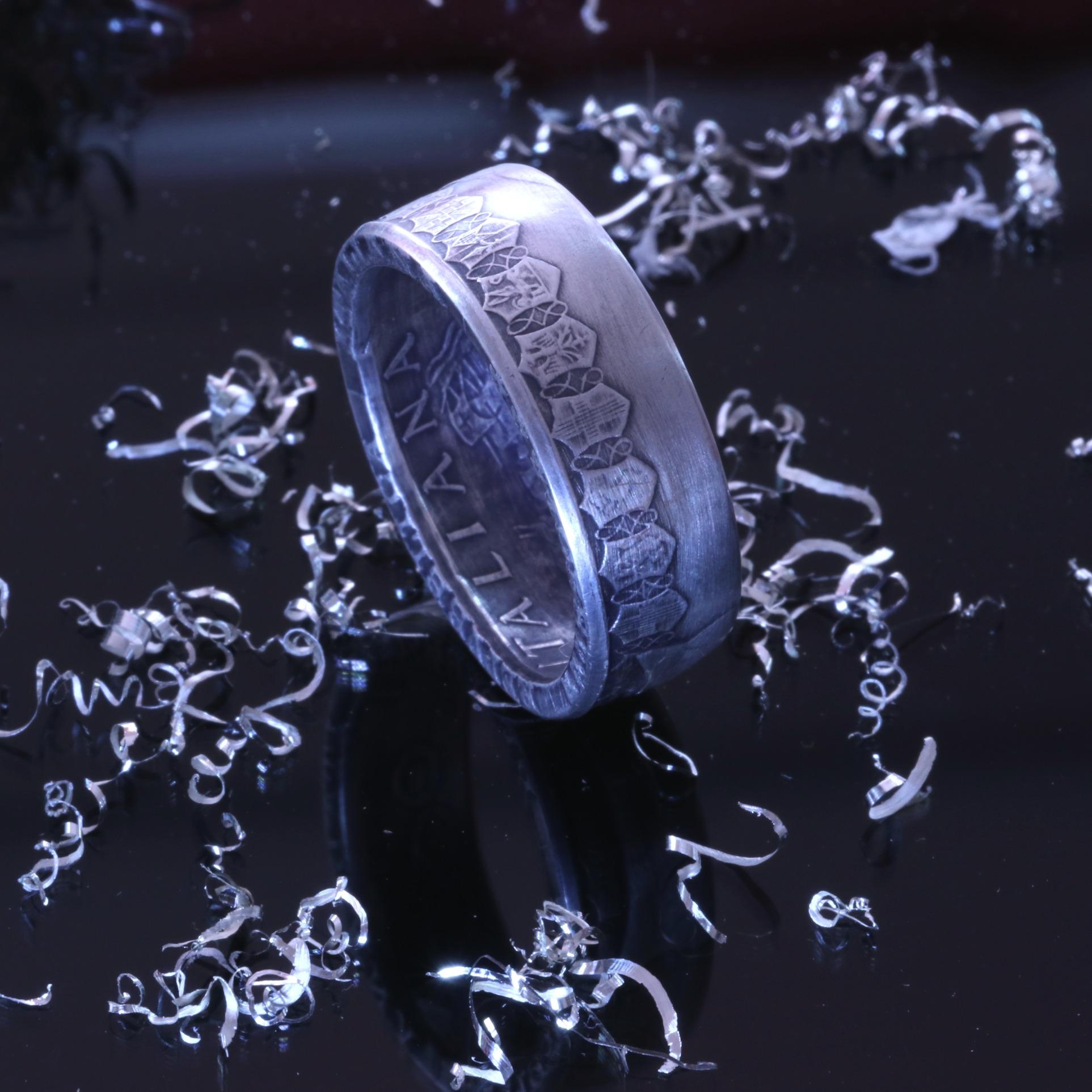 Silbermünze 500 Lire Italien