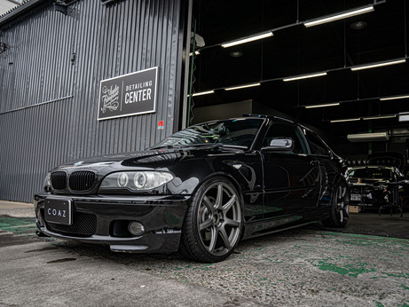 COAZ川口_手洗い洗車事例_BMW E46 330CI