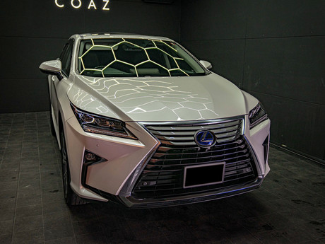 COAZ川口_ポリッシュ&ワックス洗車事例_LEXUS 20 RX