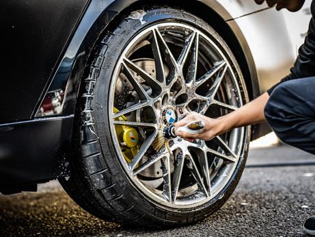COAZの手洗い洗車(ディティーリング)事例 BMW F80 M3 Detailing Wax Finish