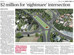 $2 million for 'nightmare' intersection