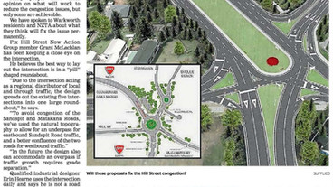 We look at ways to fix Warkworth's infamous Hill Street intersection