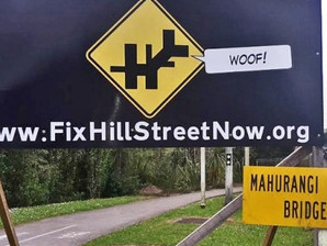 Exclusive video shows the infamous Warkworth Hill Street intersection in action