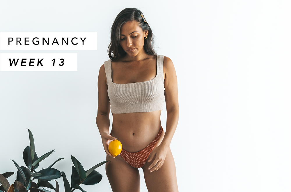 Pregnancy Baby Bump Photo Week 13