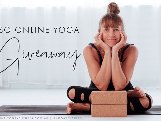 Iso Online Yoga Giveaway: Win 12 Months Unlimited Online Yoga