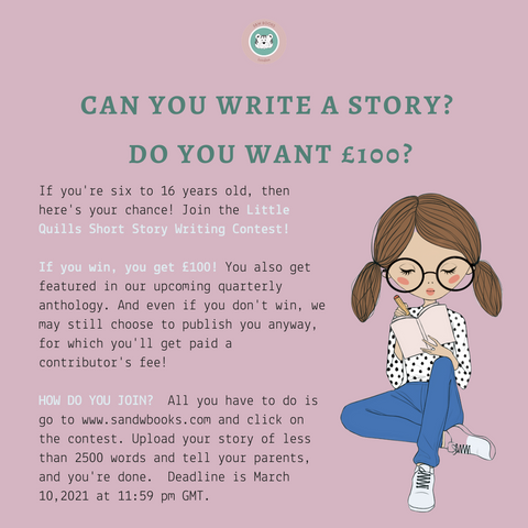 Calling all kids: Our writing contest is open!
