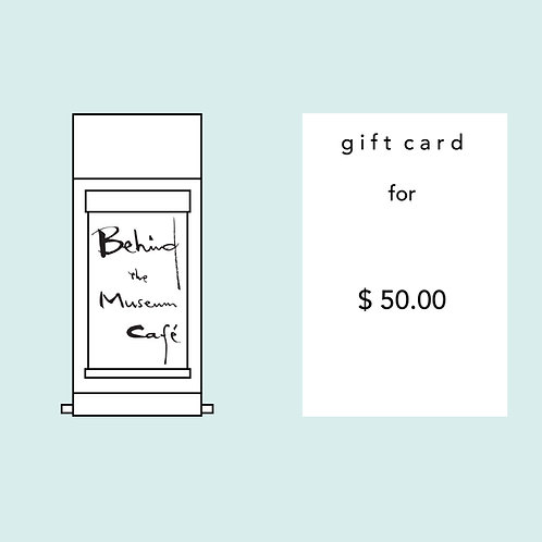 BTMC Gift Card - $50.00