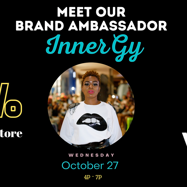 Shop With Our Brand Ambassador, InnerGy!