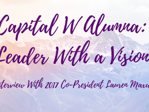Capital W Alumna: Leader With a Vision