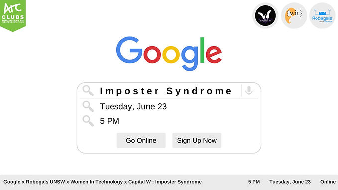 Google x Robogals x WIT x Capital W: Imposter Syndrome