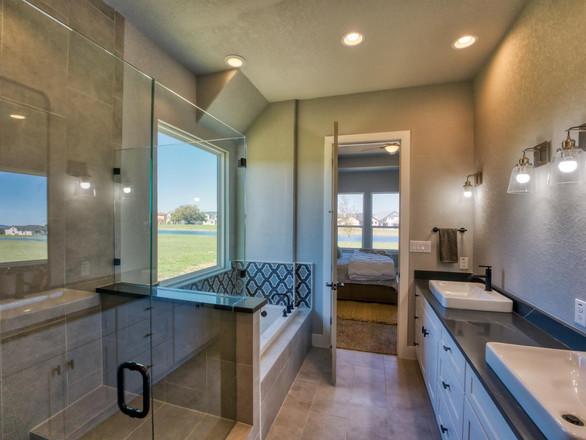 Ponds View Master Bathroom