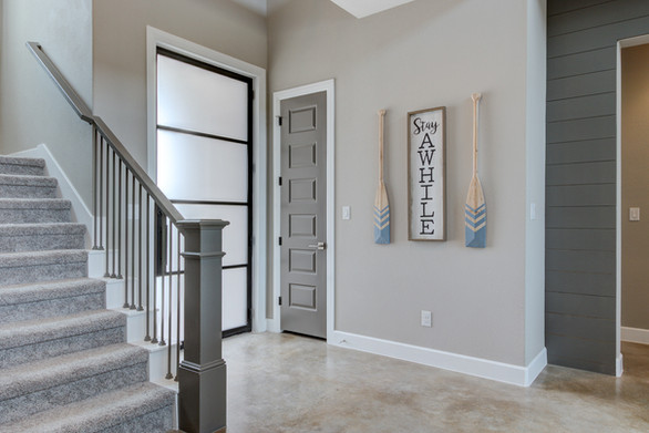 Blue Heron Foyer