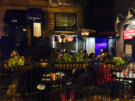 Matisse Tavern and Grill Patio