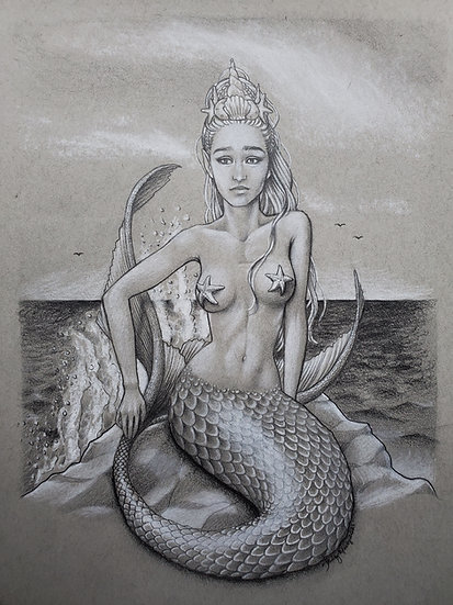 Mermaid Queen Pracella