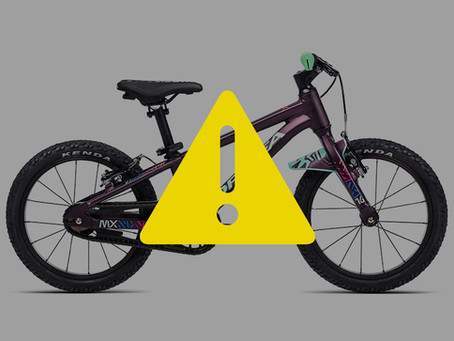 Akcja serwisowa rowerów dziecięcych ORBEA MX 16, 20, 24 i LAUFEY 20 H30 z kolekcji 2021.