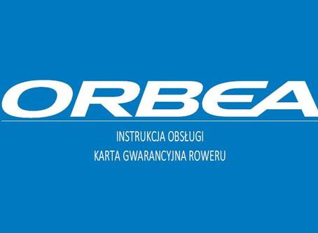 Nowa instrukcja obsługo rowerów Orbea