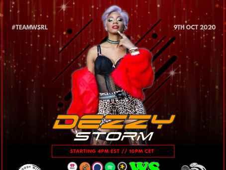 A storm is coming, with Dezzy Storm