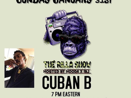 Random questions with Cuban B - The Rilla Show S2EP2