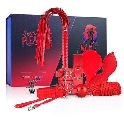 Secret pleasure Chest - Crimson Dream - 8-delige set