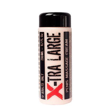 X Large Penis Massage Crème