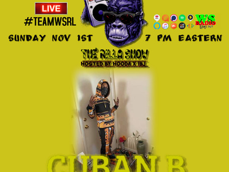 Its Cuban B!, on The Rilla Show EP5