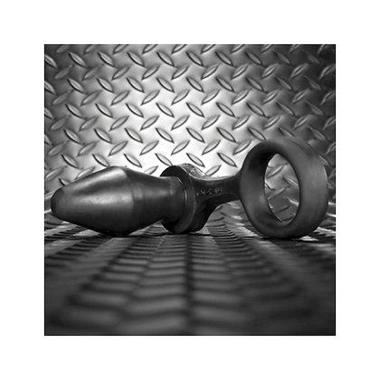 Siliconen Cockring Met Buttplug