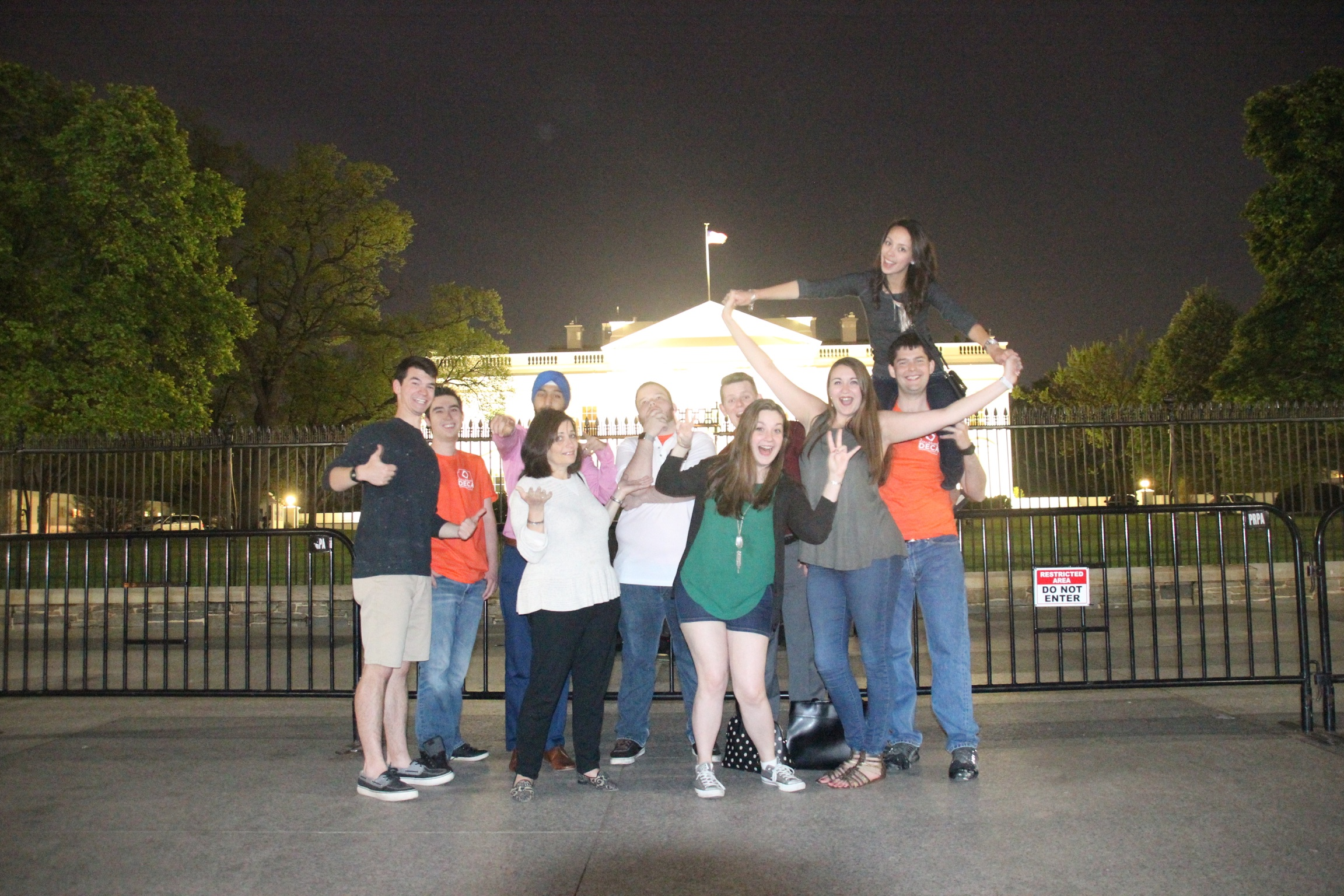 DECA takes the whitehouse
