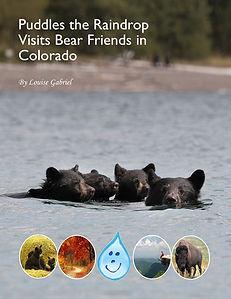 Colorado, swimming bears