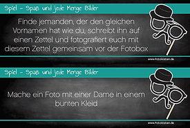 Fotobox Spiel
