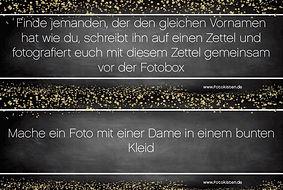 Fotobox Aufgaben Spiel 4