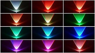 Wandbeleuchtung Lightcan Farbauswahl