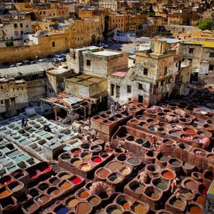 حرفة الدبغ في المغرب، حكايا اليهود و الملح..فوتوغرافيا عيسى إبراهيم
