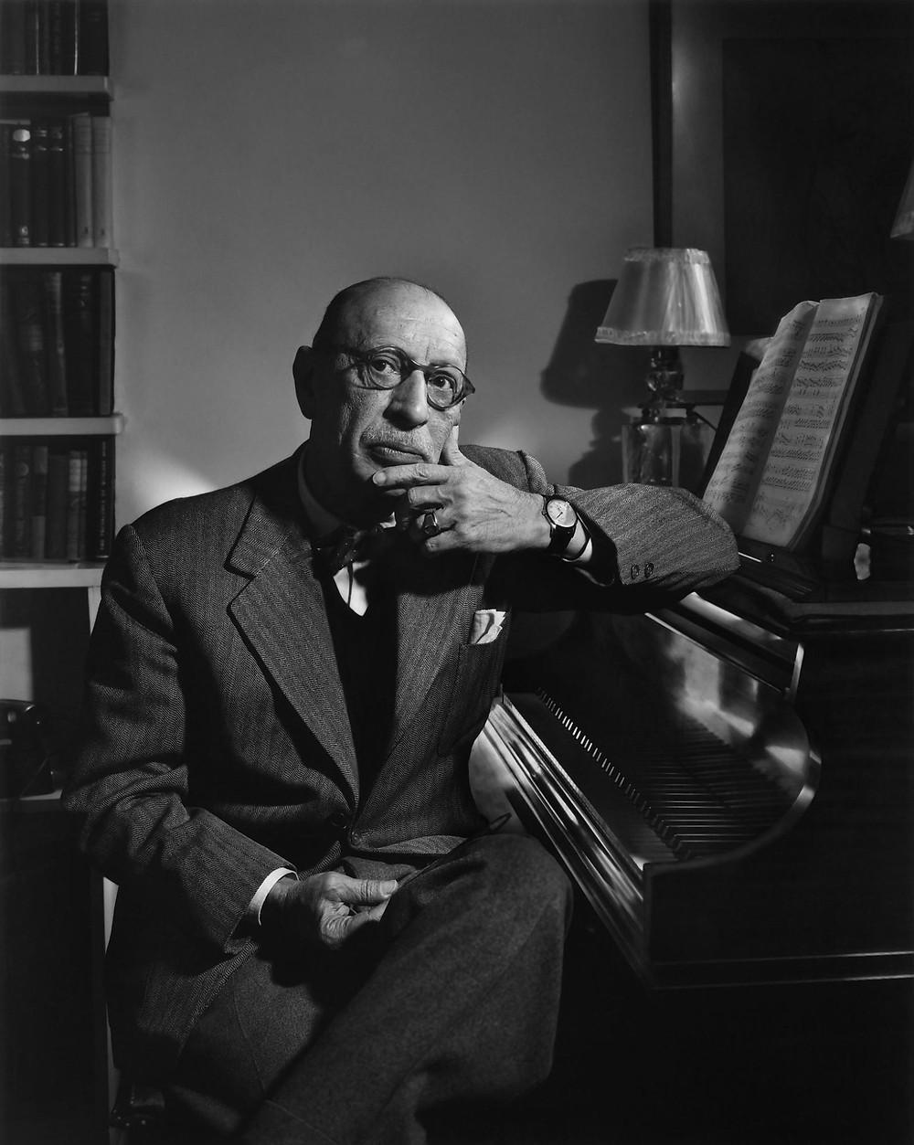 يجور سترافينسكي (17 يونيو 1882 - 6 أبريل 1971)، مؤلف موسيقى روسي. يعد من أكثر المؤلفين الموسيقيين تأثيرا في القرن العشرين