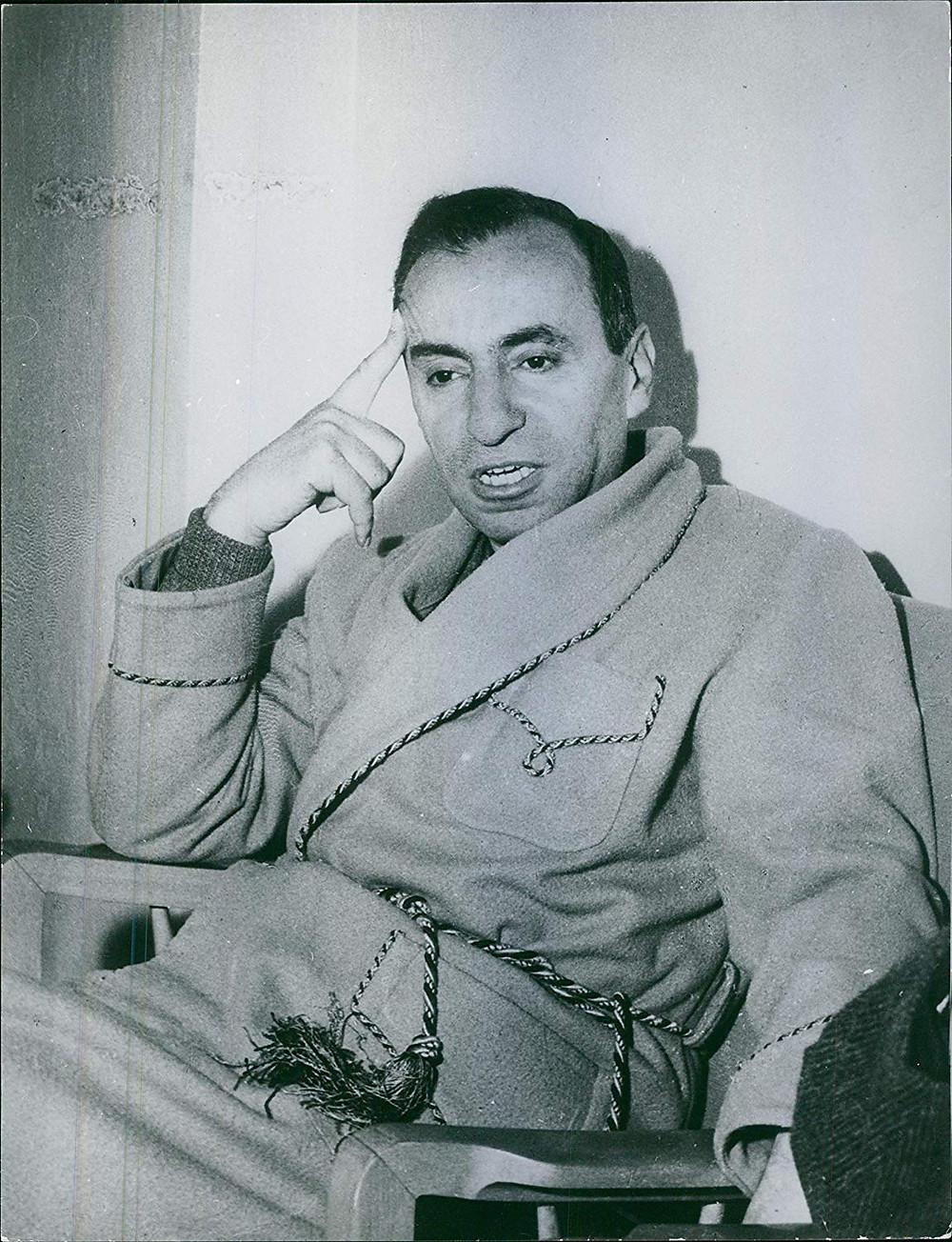 ميشيل عفلق، مفكر قومي عربي كان له الدور الأكبر في تأسيس حزب البعث الذي أصبح فيما بعد حزب البعث العربي الاشتراكي