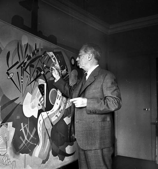 كاندينسكي وشونبرغ : صداقة الفن والحياة