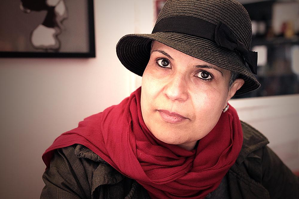 الروائية الليبية نجوى بن شتوان