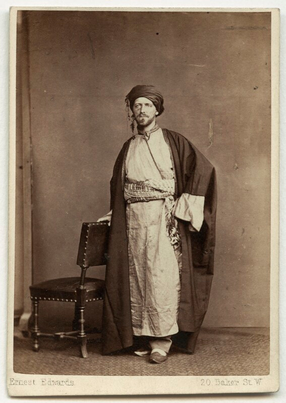 الرحالة والمبشر والجاسوس الإنجليزي وليام جيفورد بلغريف في العام 1862/1863