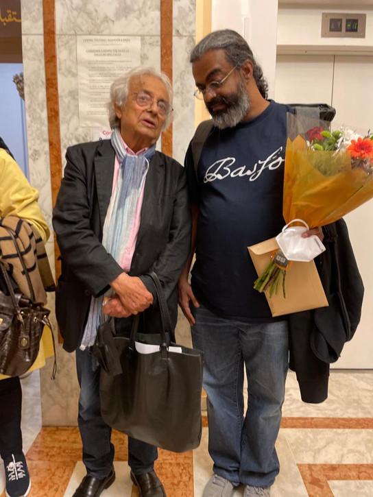 بمشاركة  أدونيس ونخبة من الأدباء العرب والفرنسيين،معهد العالم العربي يكرم الشاعر الحداد