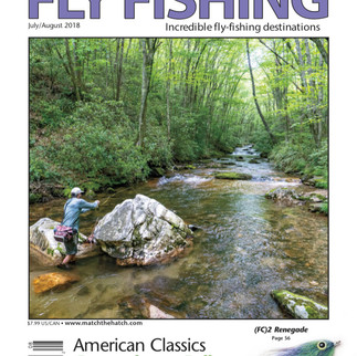 Eastern Fly Fishing, July/August 2018