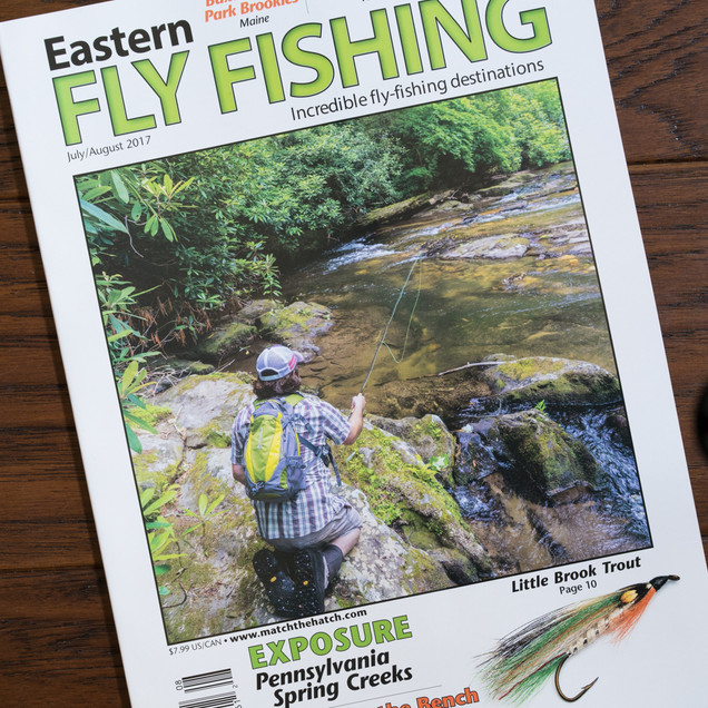 Eastern Fly Fishing, July/August 2017
