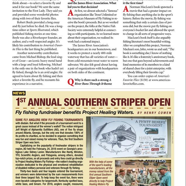 American Angler, May/June 2018