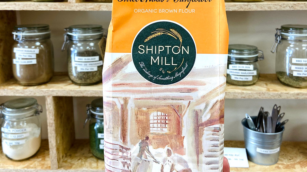 Shipton Mill Organic 3 Malts & Sunflower Brown Flour - 1kg