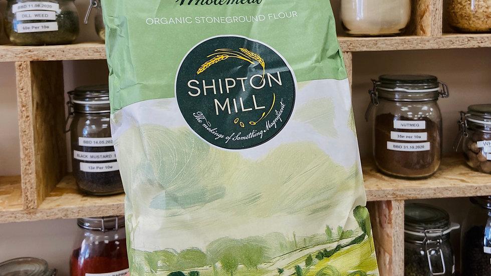 Shipton Mill Organic 100% Wholewheat Flour - 2.5kg