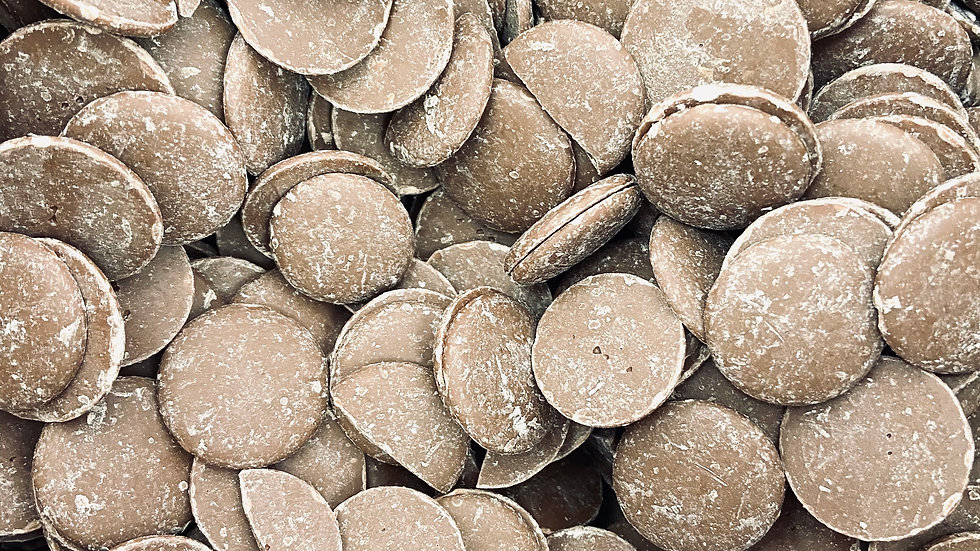 Organic Milk Chocolate Buttons - 100g